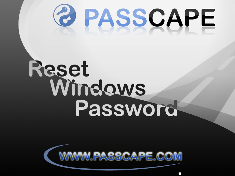 passcape windows password recovery iso full